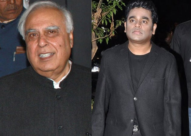 Kapil Sibal: My words found their soul in A R Rahman's music