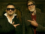 Why did Amitabh Bachchan agree to rap for <i>Party With Bhoothnath</i>?