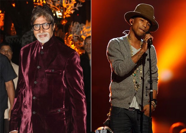 Amitabh Bachchan doesn't get the lyrics but Pharrell Williams' songs make him Happy