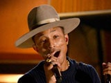 Pharrell William's Grammy hat auctioned for USD 44,100