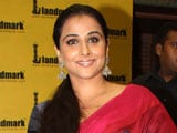 Why Vidya Balan thinks she could soon win an Oscar