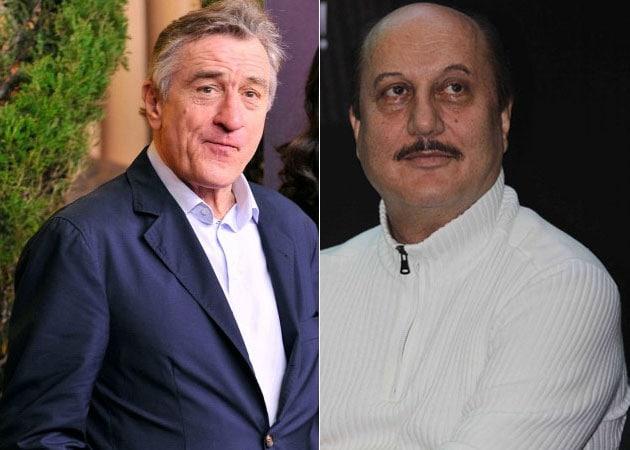 Anupam Kher talks about film on Robert de Niro and more