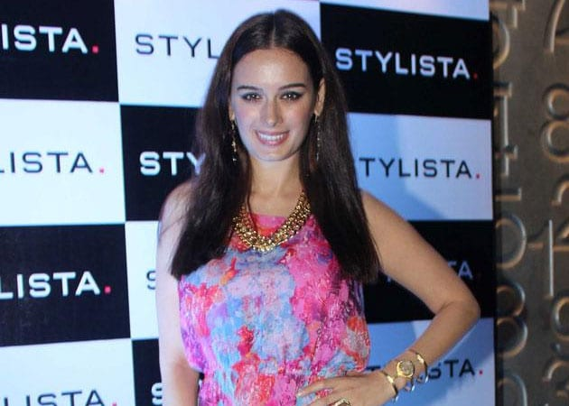 Evelyn Sharma working on her Hindi, inspired by Anupam Kher