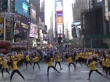 IIFA begins early with Bollywood flash mob in Times Square
