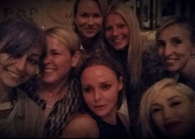 Gwyneth Paltrow's star studded selfie with Gwen Stefani and Naomi Watts