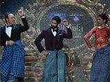Kevin Spacey's <i>Lungi Dance</i> with Deepika Padukone steals the show at IIFA 2014