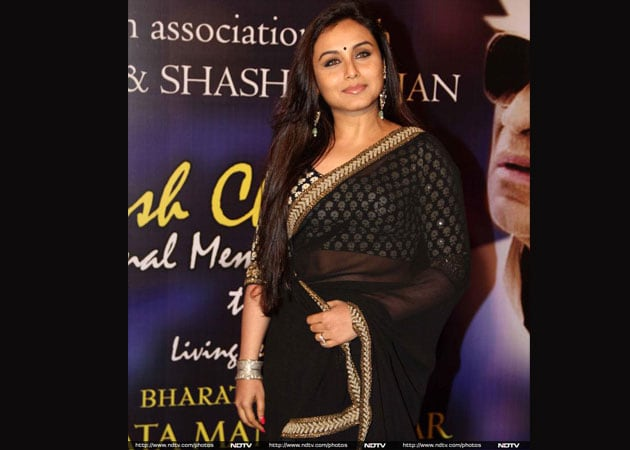 Rani Mukerji's wedding outfit was reportedly created by Sabyasachi