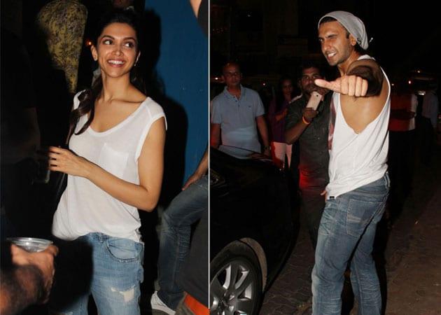 Deepika Padukone, Ranveer Singh wear matching outfits on dinner date