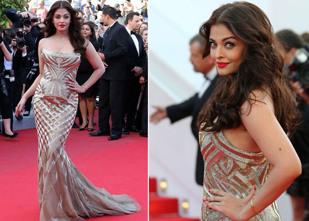 Cannes 2014: Aishwarya Rai Bachchan Makes it Worth the Wait in Goddess Gold