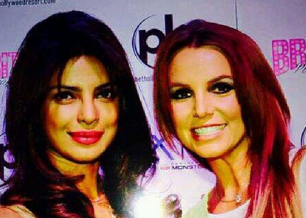 Priyanka Chopra Meets Britney Spears in Las Vegas