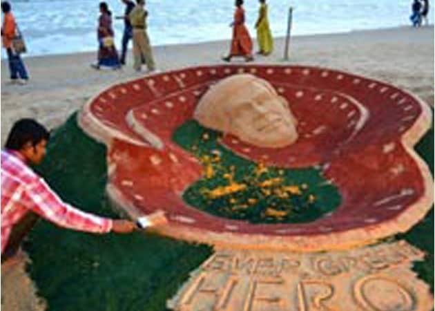 Indian Sand Artist Sudarsan Pattnaik to Create Sculpture in Cannes