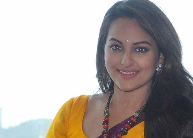 Sonakshi Sinha bruised while filming Tevar