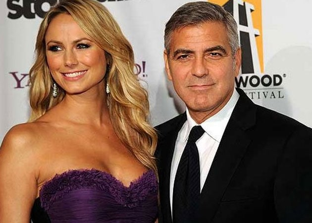 Stacy Keibler Wishes George Clooney Happiness