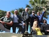 Cannes 2014: Stallone and <i>The Expendables</i> Roll Into Town in Tanks