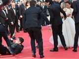 Cannes 2014: America Ferrara Has Unwanted Visitor Under Her Dress