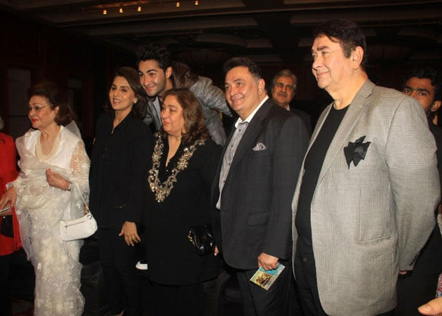 An Army of Kapoors at Armaan Jain's Music Launch