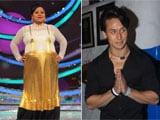 Bharti's <i>Heroine-panti</i> With Tiger Shroff on TV show