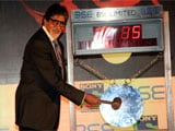 Amitabh Bachchan Rings BSE Opening Bell For TV Show <i>Yudh</i>