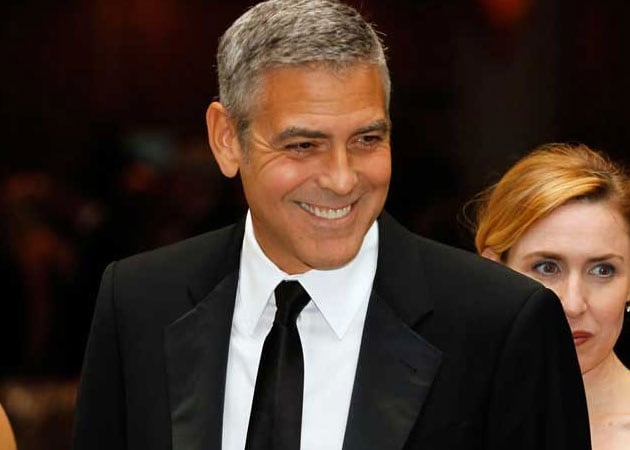 George Clooney Plays Basketball With Students From His High School