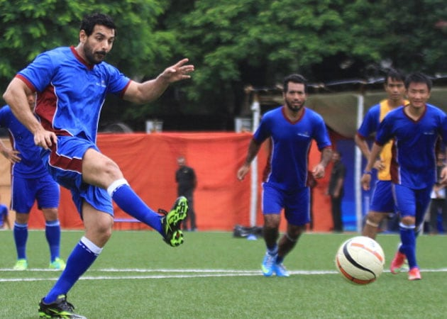 John Abraham Thinks Casting Real Footballers in 1911 is a 'Great Idea'