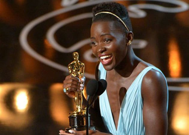 Lupita Nyongo's Oscar Goal Was to Not Trip Like Jennifer Lawrence