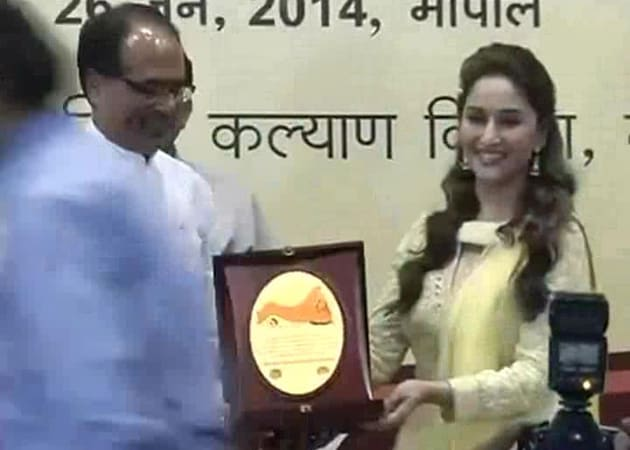 Madhuri Dixit Named Brand Ambassador of Madhya Pradesh's Health Campaign