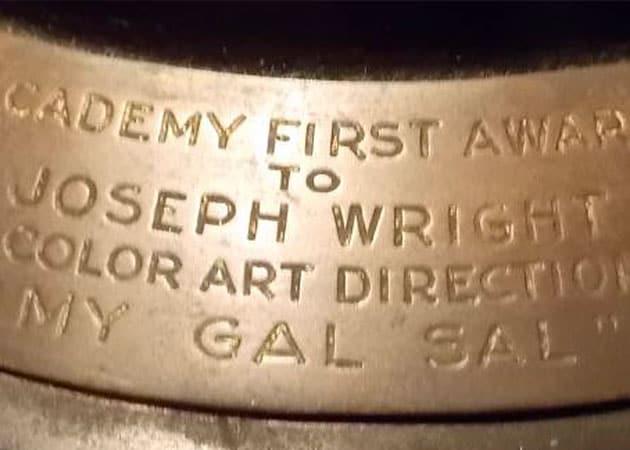 1942 Oscar Fetches Big Bucks at Auction
