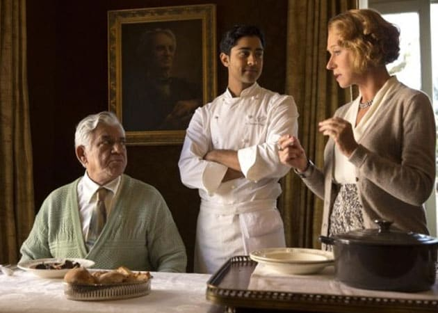 Om Puri, Helen Mirren Wage a Culinary Combat in The Hundred Foot Journey