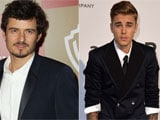 Orlando Bloom Punches Justin Bieber, Twitter Has a Field Day