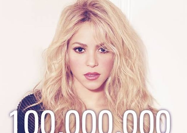 Shakira Creates Facebook History: First Celebrity Fanpage to Reach 100 Million Likes