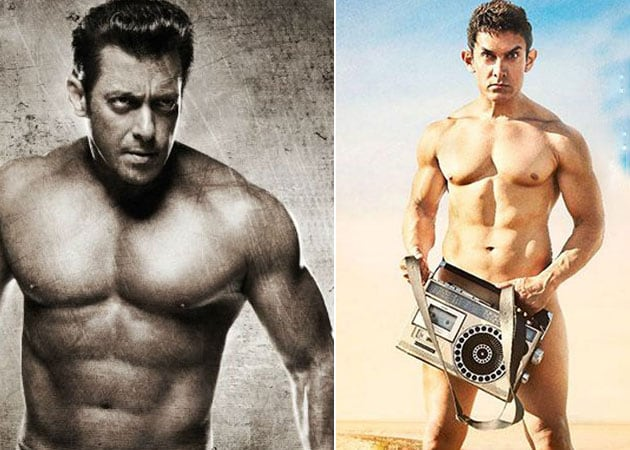 Aamir Khan's Friendship Test: Will Salman Strip in PK Fashion?