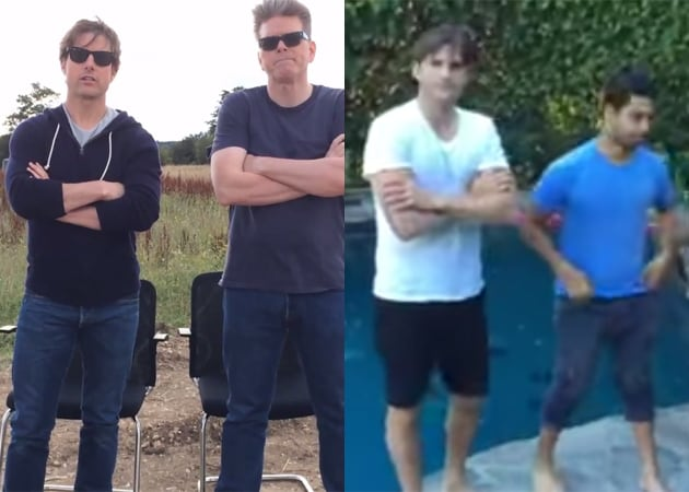 No Stopping the Ice Bucket Challenge: Tom Cruise, Ashton Kutcher Play Tag