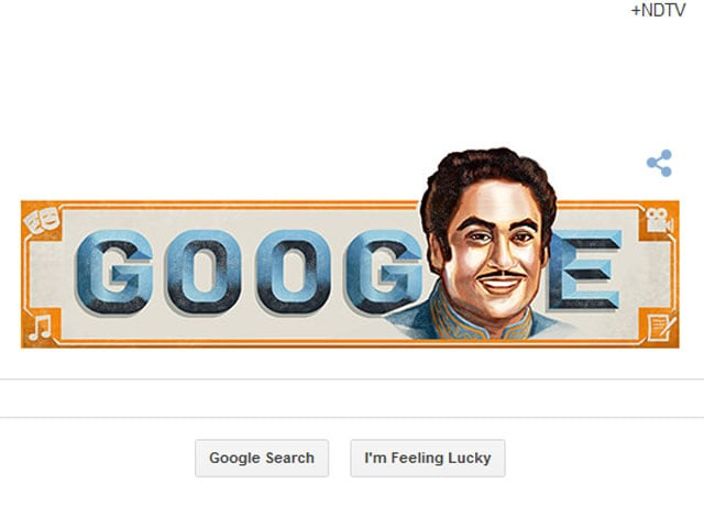 Google Doodle Pays Tribute to Kishore Kumar on 85th Birth Anniversary