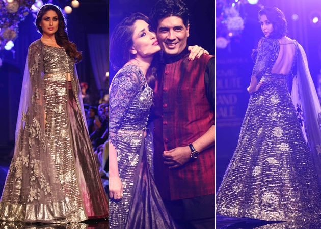 Kareena Kapoor Dazzles in Manish Malhotra Outfit at LFW Grand Finale
