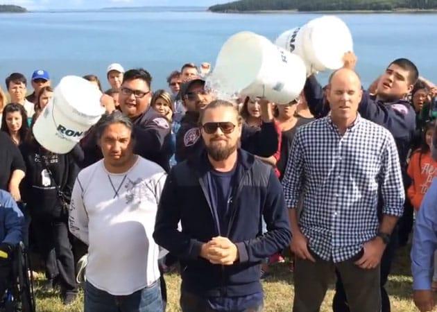 Leonardo DiCaprio Completes Ice Bucket Challenge