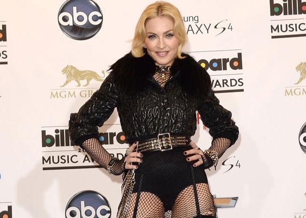 Madonna Working on a 'Super Weird' Song