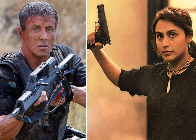 Today's Big Releases: Mardaani, The Expendables 3
