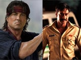 Sylvester Stallone Wishes Luck to Indian <i>Rambo</i> Ajay Devgn