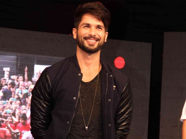 Shahid Kapoor: Did Haider For the Experience, to Feel Enriched
