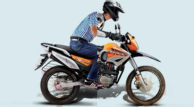 Hero?s off road bike Impulse sports premium price tag