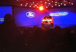 Auto Expo 2012: Ford to unveil Ecosport; more fuel mileage, less emissions