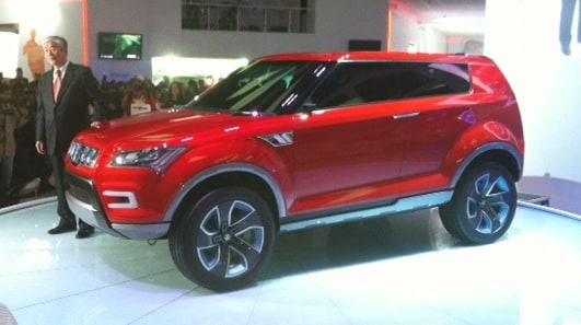 Auto Expo 2012: Maruti unveils compact SUV XA Alpha