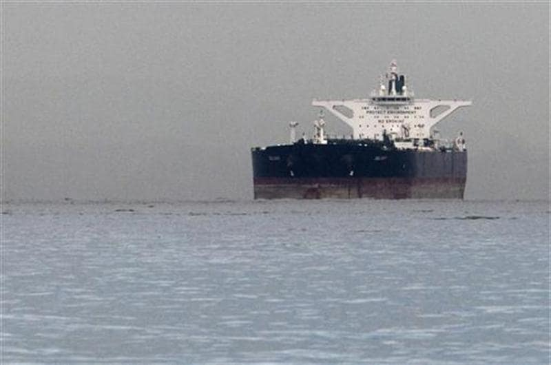 Oil falls below $102 per barrel