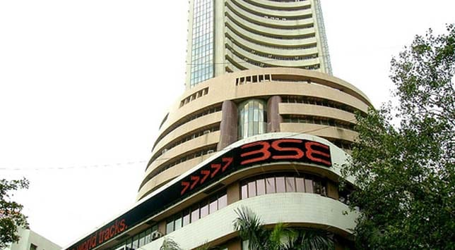 Sensex falls over 300 points, nears 16,000 mark