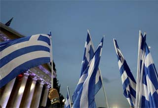 In Greece, a painful return to country roots