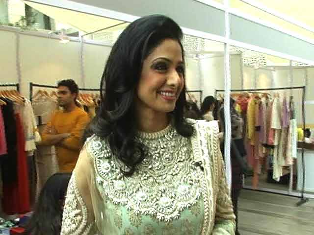 Video : Walk The Talk With Sridevi (Aired: April 2013)
