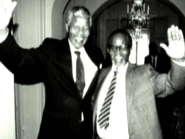 Video : The World This Week: Thank you for caring, says free Mandela (Aired: April 1990)