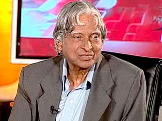 Video : When President Kalam Took Students' Questions (Aired: August 2007)