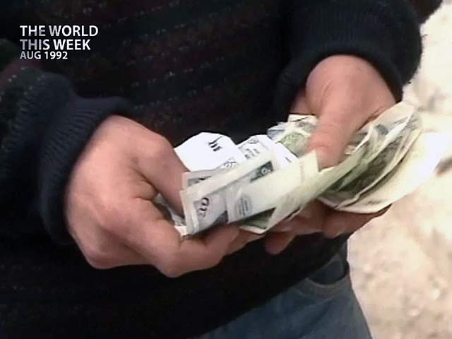 Video : The World This Week: Financial lightning storm hits dollar, pound (Aired: Aug 1992)