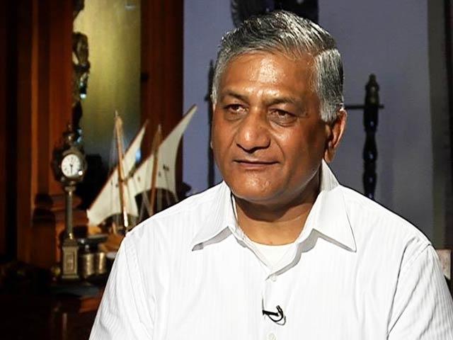 Video : Ex-Army Chief VK Singh on whether he'll run against Sonia Gandhi